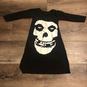 Misfits Band T-shirt Dress